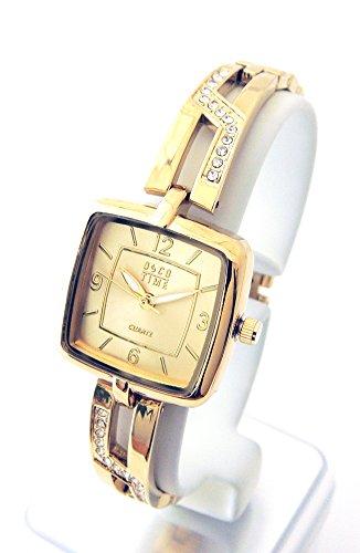 OSCO Damen-Schmuckband-Uhr Night Life Gold 06132002