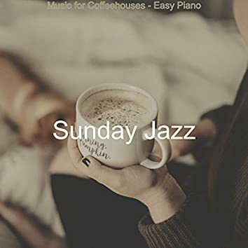 Music for Coffeehouses - Easy Piano