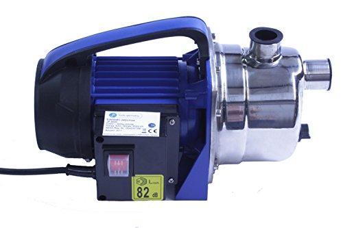 jn tools germany Edelstahl Jetpumpe, Gartenpumpe, Teichpumpe, Wasserpumpe, Pumpe, INOX Stainless (JP-1000i)