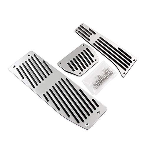 ZXC Negro de Aluminio de Plata de la Manera/aleación Coche Pedales Resto...