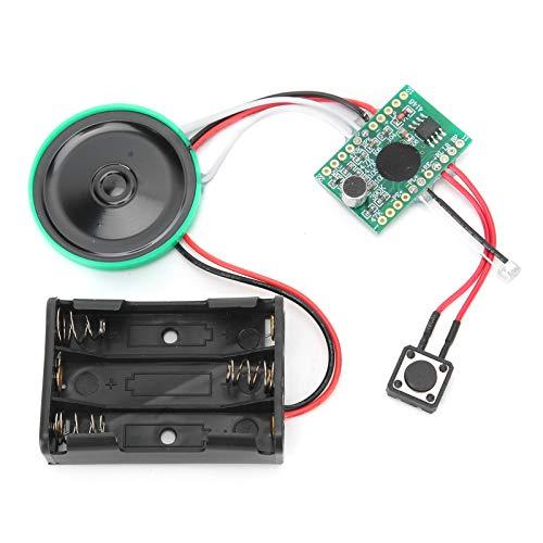 Astibym con Funzione di sensore di Luce Modulo Audio con Chip vocale Registrabile Universale, per Giocattoli per Bambini