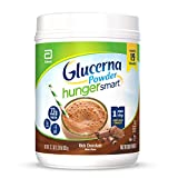 Glucerna Hunger Smart Powder, with 22g of Protein and 2g Sugars, Gluten-Free Protein Powder Mix for People with Diabetes, Rich Chocolate, 22.3-oz Tub ( Pack Of 2 ) ( Packaging May Vary )