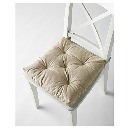 Ikea's MALINDA Chair cushion (2, Light Beige)