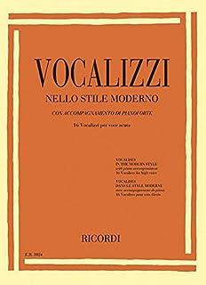 Vocalises in the Modern Style [vocalizzi Nello Stile Moderno]: High Voice