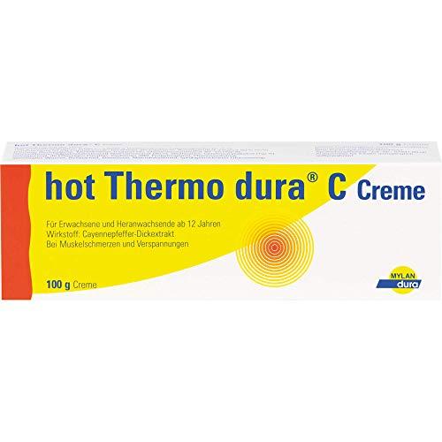 hot Thermo dura C Creme bei Muskelschmerzen und Verspannungen, 100 g Creme