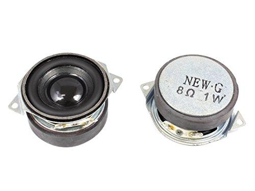 小型 フルレンジスピーカーユニット1.5インチ(39mm) 8Ω/MAX2W [スピーカー自作/DIYオーディオ]/1個