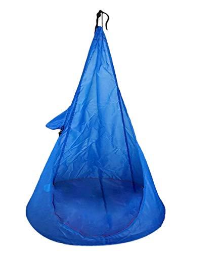 asdf Hamaca En Casa Hamaca para Niños Silla para Niños Columpio Góndola Silla De Exterior Silla Silla Muebles De Exterior (Azul)