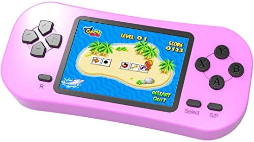 Beijue Retro Handheld Games for Kids Built in 218 Classic Old Style Electronic Game 2 5 Screen product image