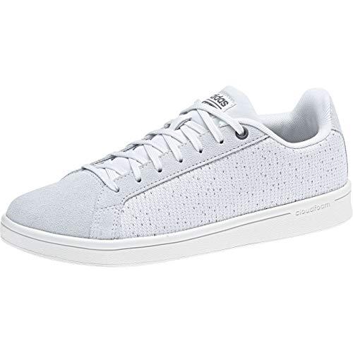 adidas Cloudfoam Advantage Clean, Zapatillas de Tenis para Mujer, Blanco (Crywht/Crywht/Onix Crywht/Crywht/Onix), 37 1/3 EU