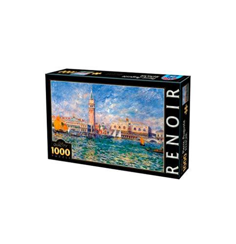 Unbekannt Puzzle 1000 Teile - Pierre-Auguste Renoir: The Doge's Palace, Venice