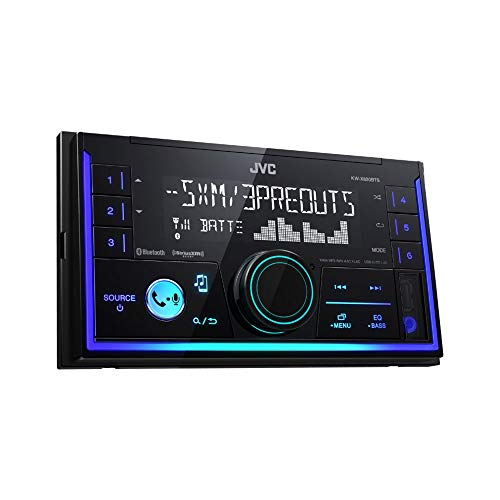 JVC KW-SX83BTS 2-Din Apple and Android Compatibility Digital Media...