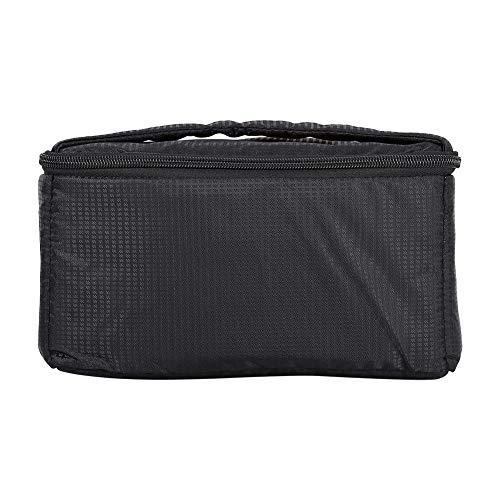 Saco portátil robusto e durável de ampla aplicação Saco acolchoado com zíper prático prático para viagem, caminhada, acampamento, viagem de negócios