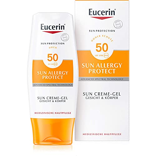 Eucerin Sun Protection Allergy Protect Sun Creme-Gel LSF 50, 150 ml Creme