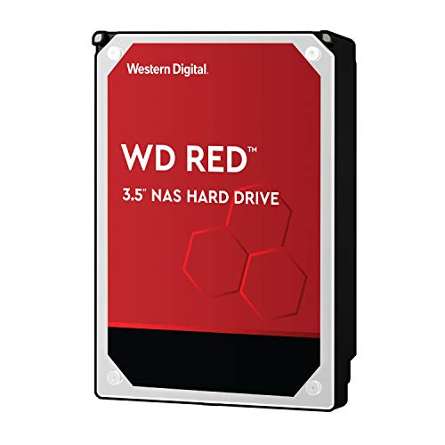 Western Digital HDD 8TB WD Red Plus NAS RAID (CMR) 3.5インチ 内蔵HDD WD80EFAX-EC 【国内正規代理店品】