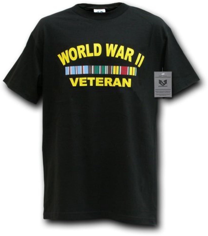 Rapiddominance WWII Vet Military Tee, Black, XXLarge by Rapid Dominance