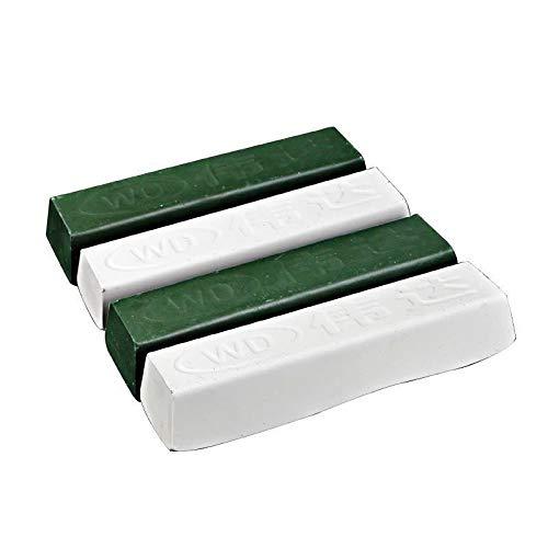 2 2 Bianco Verde Metallo Materiali Come Acciaio Lucidatura Finitura Lucida Incollare Lucidatura Cera Lucidante Bastoni Cera Regina