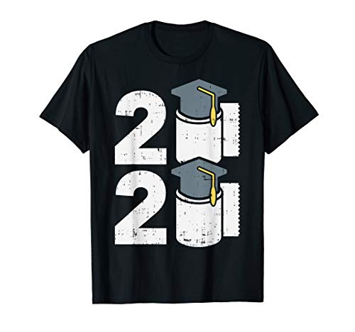2020 Toilet Paper Quarantine Isolation Graduation Gift T-Shirt