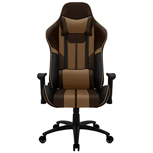 ThunderX3 BC3 BOSS, silla gaming tecnología AIR, transpiración total, marrón