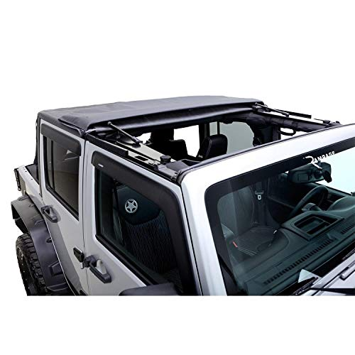 Rampage Products | 139835 | TrailView Fastback Soft Top | fits '07-'18 Jeep Wrangler JKU 4dr