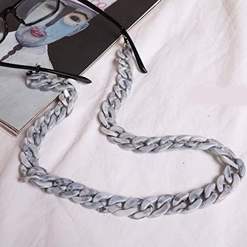 YANME 1 Uds, Cadena de anteojos acrílicos, cordón, Gafas de Sol de ámbar, Soporte de Cable, Accesorios, Herramienta