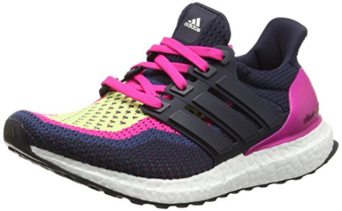 adidas Damen Ultra Boost Laufschuhe, Mehrfarbig (Night Navy/Night Navy/EQT Pink), 36 EU