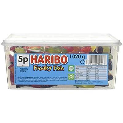 haribo tub freaky fish 1020g Haribo Tub Freaky Fish 1020g 41PVMVv9F7L