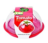 MSC International 067742-330222 Joie Clearly Fresh Airtight Tomato Keeper Storage Container Pod