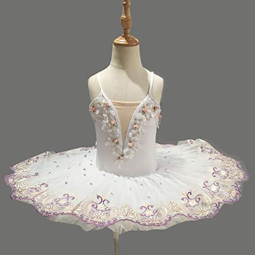 CHANGL Bailarina Profesional Ballet Tutu para niños niños niños niñas Adultos panqueque Tutu Trajes de Baile Vestido de Ballet niñas