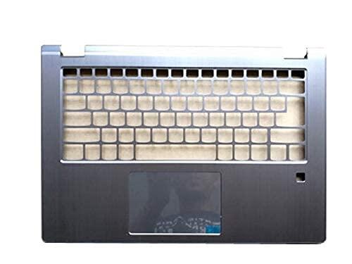 ZGQA-GQA Nuevo Teclado de Repuesto para computadora portátil Bisel Compatible con Lenovo Compatible con Yoga 530 530-14 530-14IKB Flex 6-14 Flex 6-14IKB Cubierta Superior del Bisel del tecl