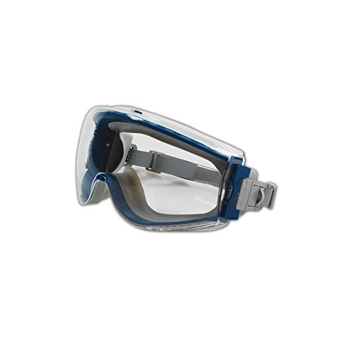 Uvex Stealth Safety Goggles with Uvextreme Anti-Fog Coating (S39610C)
