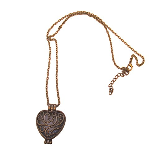 unbrand Vintage Kette nachtleuchtend romantisch Herz Medallion