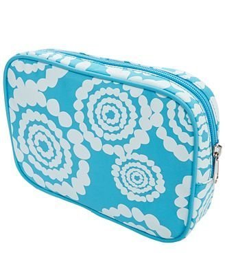 Cosmetic Bag Blue Flower by Macy's