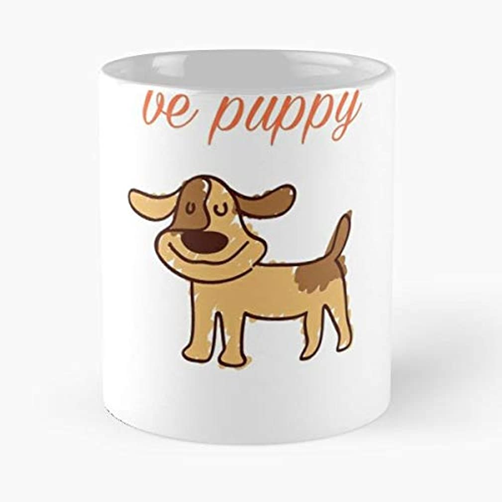 Dont Worry Be Puppy Cute Gift Coffee/tea Ceramic Mug 11 Oz