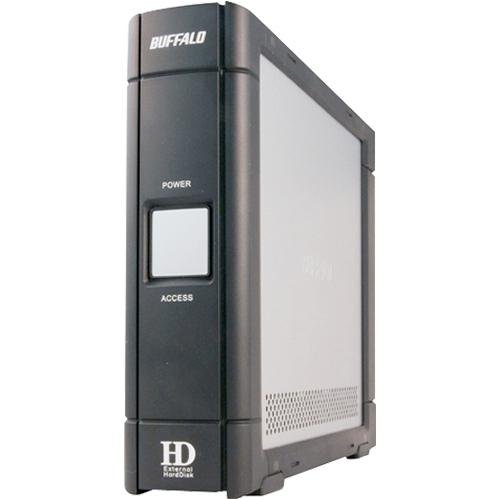 Buffalo DriveStation External Hard Drive - 500 GB 500GB Schwarz, Grau Externe Festplatte - Externe Festplatten (500 GB, 7200 RPM, Schwarz, Grau)