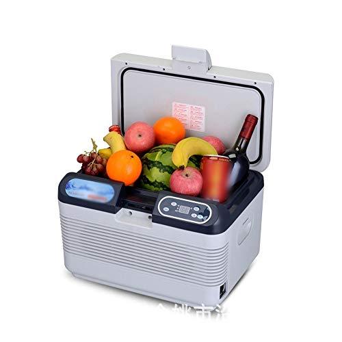 QYXJJ QLBF Small Refrigerator Cool Box Low Noise Compact Refrigerators Car Refrigerator Mini Fridge Portable Compact Personal Cooler and Warmer Fridge, Cools & Heats, 12L Capacity, Eco Friendly