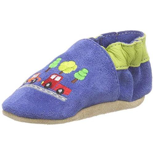 Beck Autos, Pantofole Bambino Bimbo 0-24, Blu (Blau 34), 16 EU
