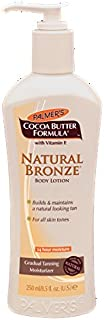 Palmer's Cocoa Butter Natural Bronze Body Lotion for Unisex, 8.5 Ounce