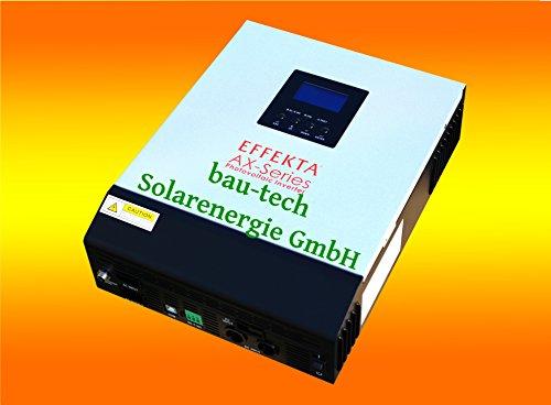 bau-tech Solarenergie Hybrid Wechselrichter EFFEKTA AX-K3000 Serie GmbH