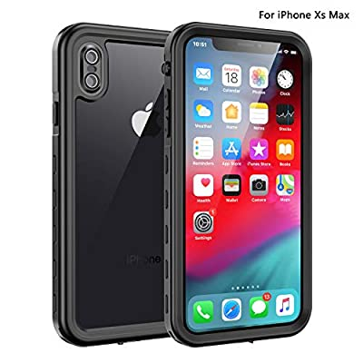 Fansteck iPhone Xs Max Waterproof Case, Waterpr...