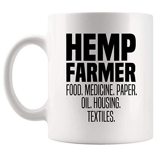 Farming Agriculture Gifts Hemp Farmer Farm Oil Herbal Vegans Medicine Mug Cup - Farm Farmers Mugs Hilarious T-Shirt Gifts for Friends