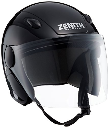 Yamaha 90791-3251W S Bicycle/Scooter/Moped Helmet, Jet, SF-7 Lee Winds, Anthracite, Head Circumference: 21.6 - 22.0 inches (55 cm - 56 cm) , model: 90791-3248F, mettalic black