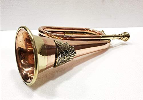 Señal de Trompeta de Las Fuerzas Militares de Instrumentos Musicales de latón y Cobre Antiguo