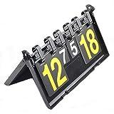 RSGK Tabellone Segnapunti di Pallacanestro, Tabellone Segnapunti di Pallacanestro a 4 Portatili, Tabellone Segnapunti Digitale in PVC Segnapunti per Conversione Tablet da 2/3/4 Cifre