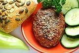 Ostrich Retail Burgers 3:1 Round (12 Qty. / 5.3 Oz.)
