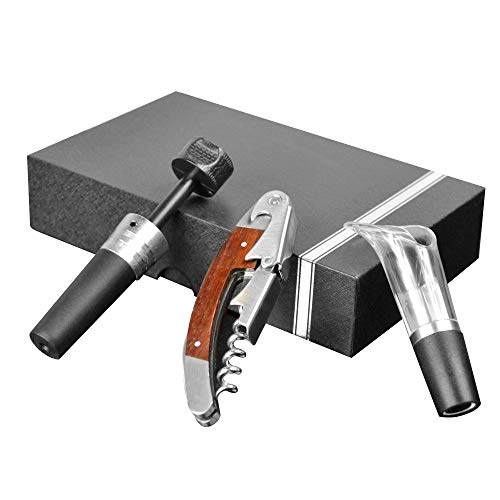Lot de 3 décapsuleurs multifonction en acier inoxydable de haute qualité