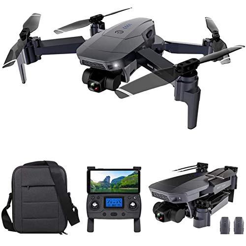 J-Love Drone GPS con videocamera 4K HD e Giunto cardanico a 2 Assi, Drone FPV WiFi 5G per Adulti, Quadricottero RC con Posizionamento del Flusso Ottico, Follow Me, Waypoint Flight