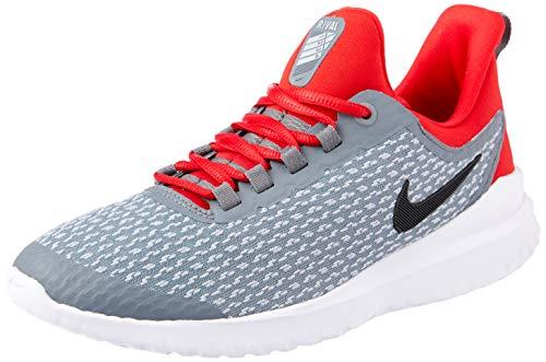Nike Renew Rival (GS), Scarpe da Campo e da Pista Uomo, Multicolore Grigio Freddo Nero Rosso Multicolor Cool Grey Black University Red 005, 38.5 EU