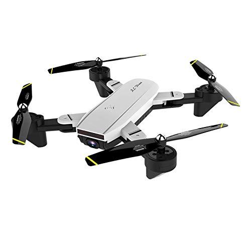 Drone 4K plegable con cámara Duble para adultos, posicionamiento de flujo óptico Wifi Video en vivo Video de gestos, Altitud Modo sin cabeza Despegue con una tecla, Principiantes Niños RC Quad