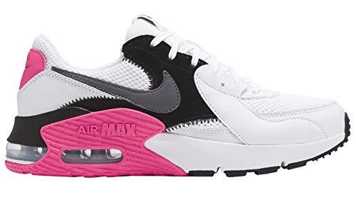 Nike Wmns Air Max EXCEE, Scarpe da Corsa Donna, White/Cool Grey-Black-Hyper Pink