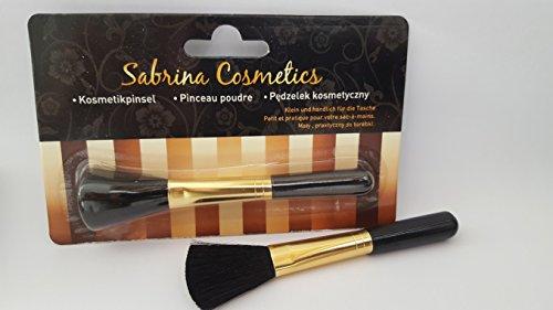 Kosmetikpinsel auf Blister, Länge 13 cm, Puderpinsel, Makeup-Pinsel